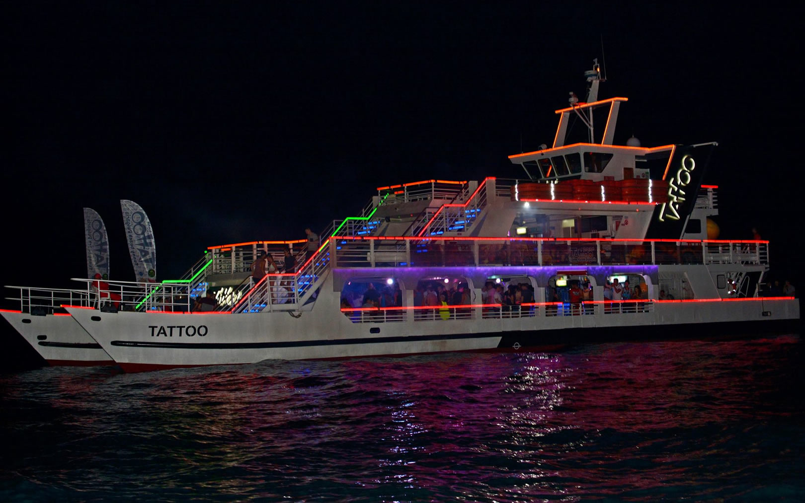 Tattoo Party Boat | Sunny Beach
